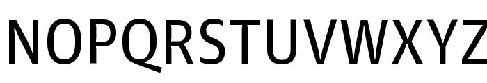 GuardianAgateSans G2Regular Reduced Font UPPERCASE