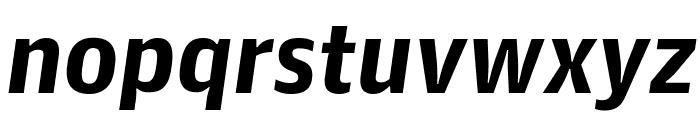 GuardianAgateSans G3BoldItalic Reduced Font LOWERCASE