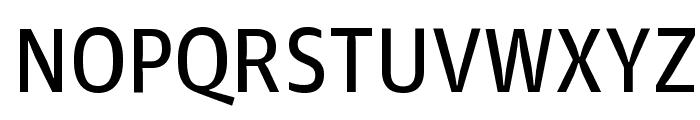 GuardianAgateSans G3Regular Reduced Font UPPERCASE