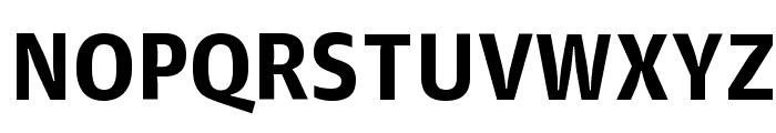 GuardianAgateSans G4Bold Reduced Font UPPERCASE