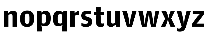 GuardianAgateSans G4Bold Reduced Font LOWERCASE