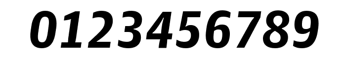 GuardianAgateSans G4BoldItalic Reduced Font OTHER CHARS