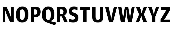 GuardianAgateSans G4DuplexBold Reduced Font UPPERCASE