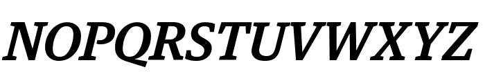 GuardianEgyp MediumIt Reduced Font UPPERCASE