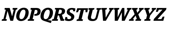 GuardianEgyp SemiboldIt Reduced Font UPPERCASE