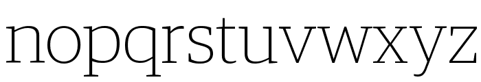 GuardianEgyp Thin Reduced Font LOWERCASE