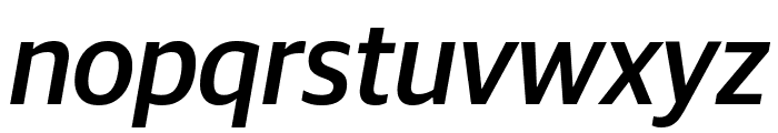GuardianSans MediumIt Reduced Font LOWERCASE