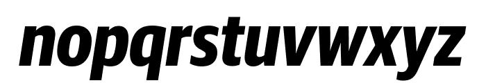 GuardianSansCond BoldIt Reduced Font LOWERCASE