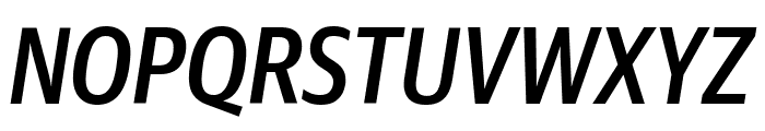 GuardianSansCond MediumIt Reduced Font UPPERCASE