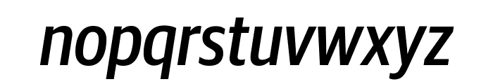 GuardianSansCond MediumIt Reduced Font LOWERCASE