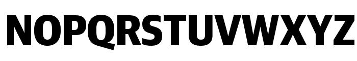 GuardianSansNarrow Bold Reduced Font UPPERCASE