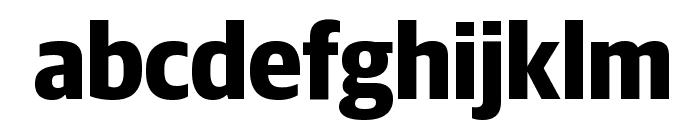 GuardianSansNarrow Bold Reduced Font LOWERCASE
