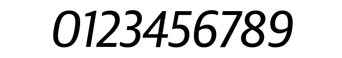 GuardianSansNarrow RegularIt Reduced Font OTHER CHARS
