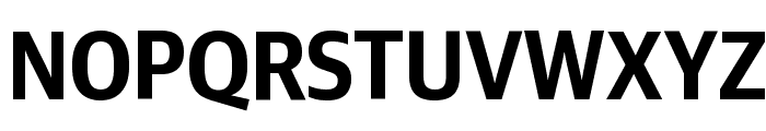 GuardianSansNarrow Semibold Reduced Font UPPERCASE