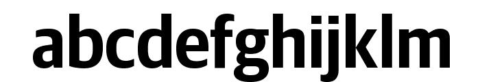 GuardianSansNarrow Semibold Reduced Font LOWERCASE