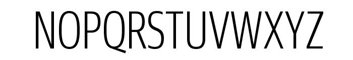 GuardianSansXCond Light Reduced Font UPPERCASE