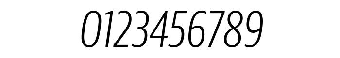 GuardianSansXCond LightIt Reduced Font OTHER CHARS