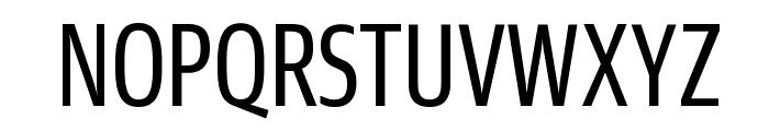 GuardianSansXCond Regular Reduced Font UPPERCASE