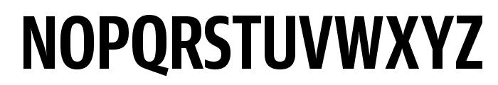 GuardianSansXCond Semibold Reduced Font UPPERCASE