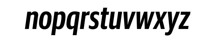 GuardianSansXCond SemiboldIt Reduced Font LOWERCASE