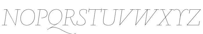 Marian1565 Italic Reduced Font UPPERCASE
