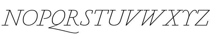 MarianText 1554Italic Reduced Font UPPERCASE