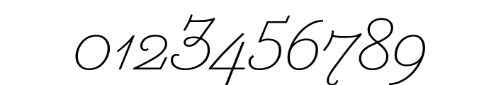 MarianText 1800Italic Reduced Font OTHER CHARS