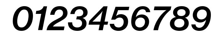 NeueHaasGrotText 66MediumItalic Reduced Font OTHER CHARS