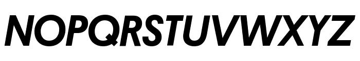 Platform MediumItalic Reduced Font UPPERCASE