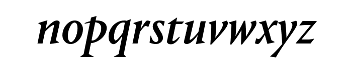 Portrait MediumItalic Reduced Font LOWERCASE