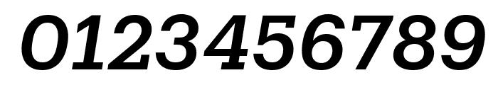 Produkt MediumItalic Reduced Font OTHER CHARS