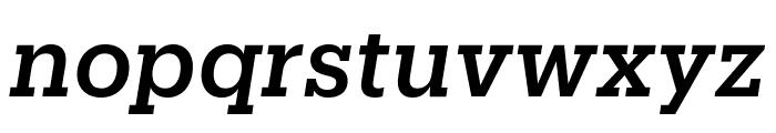 Produkt MediumItalic Reduced Font LOWERCASE