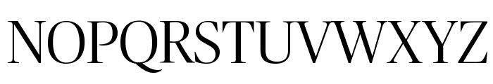 PublicoBanner Light Reduced Font UPPERCASE