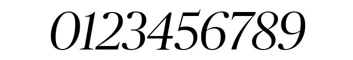 PublicoBanner LightItalic Reduced Font OTHER CHARS