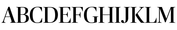PublicoBanner Roman Reduced Font UPPERCASE