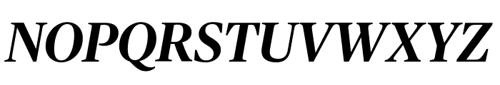 PublicoHeadline MediumItalic Reduced Font UPPERCASE