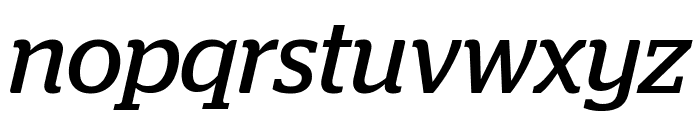 Stag BookItalic Reduced Font LOWERCASE