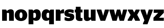 StagSans Bold Reduced Font LOWERCASE