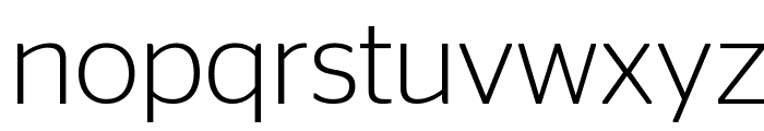 StagSans Light Reduced Font LOWERCASE