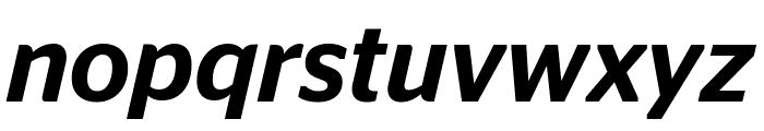 StagSans MediumItalic Reduced Font LOWERCASE