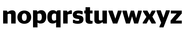 StagSans Semibold Reduced Font LOWERCASE