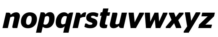 StagSans SemiboldItalic Reduced Font LOWERCASE