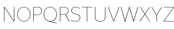 StagSans Thin Reduced Font UPPERCASE