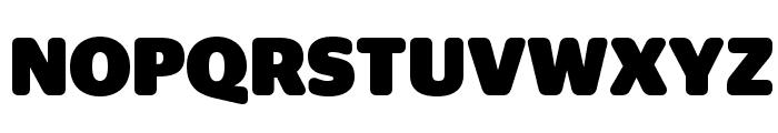 StagSansRound Black Reduced Font UPPERCASE