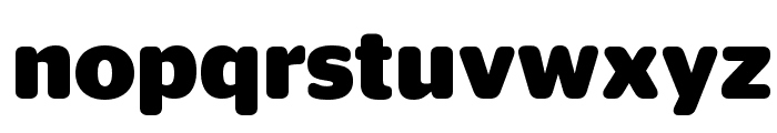 StagSansRound Bold Reduced Font LOWERCASE