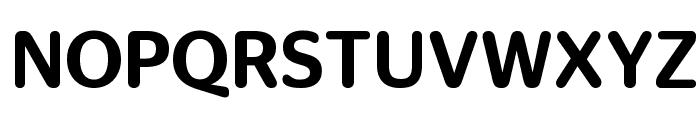 StagSansRound Medium Reduced Font UPPERCASE