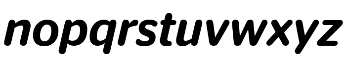 StagSansRound MediumItalic Reduced Font LOWERCASE