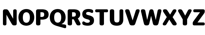 StagSansRound Semibold Reduced Font UPPERCASE