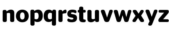 StagSansRound Semibold Reduced Font LOWERCASE