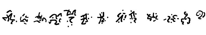 Cthulhu Runes Font LOWERCASE